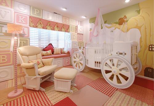 Kidtropolis - Princess Nursery Theme